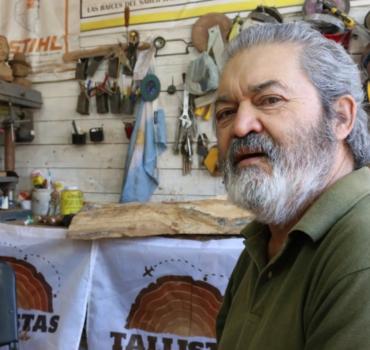 Por siempre el maestro artesano Hugo Da Silva, un pilar de la Fiesta Nacional de la Artesanía de Colón